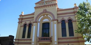 Armidale town hall building