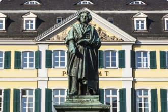Beethoven Statue, Germany