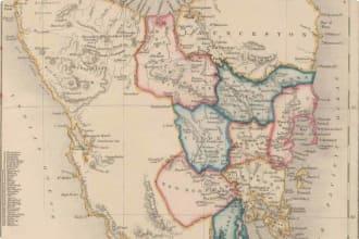 Colony Map of Tasmania
