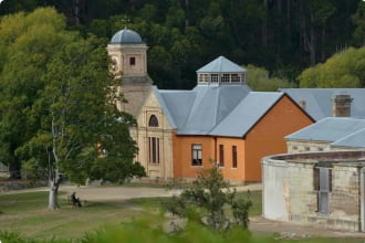Port Arthur village historic site, a 19th-century penal settlement