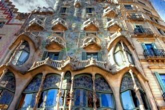 Discovering Iberia Barcelona Casa Batllo Gaudi Spain