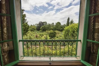 View from Monet's house in Giverny