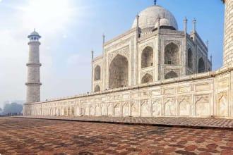 Taj Mahal. India