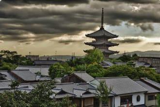 To-Ji pagoda in Kyoto, Japan