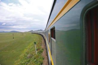 Train journey Mongolia to Russia