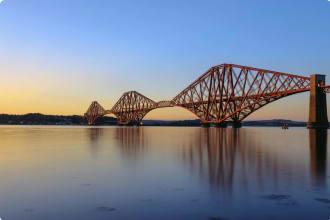 Forth Rail Bridge Scotland UK