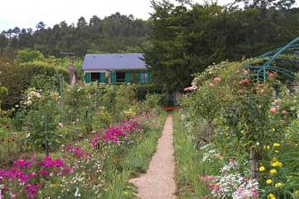 Rose Garden, Giverny - France