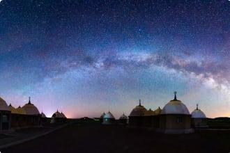 Night sky Mongolia