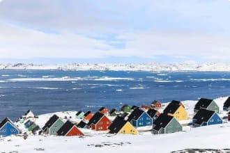 Greenland, coastline