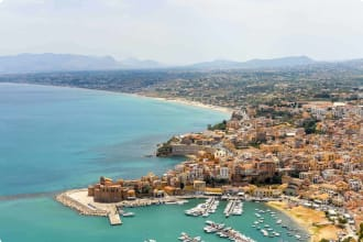 Castellamere del Golfo, Sicly