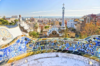 Small Group Guided Tours to Spain and Portugal Barcelona Park Guell