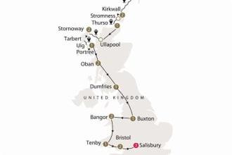 Map of Prehistoric Britain