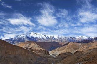 Himalayan mountain, Kashmir, India