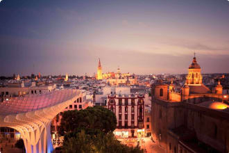 City of Sevilla, Spain.