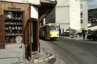 Cable Car in Sarajevo.