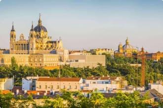 Almundena Cathedral, Madrid, Spain