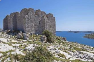 Fortress of Tureta Kornati Islands Croatia