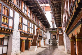 Dzong of Jakar, Bumthang, Bhutan
