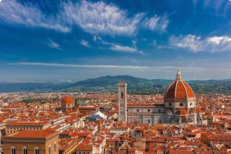 Duomo Santa Maria Del Fiore and Medici , Florence, Italy