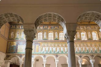 San Appollinare nuovo church in Ravenna-Italy