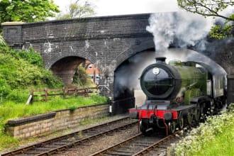 Steam Engine, Norfolk Britain