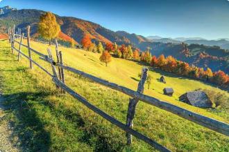 Walking in Romania
