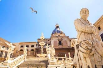 Piazza Pretoria, Sicily, Italy