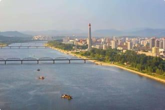 Cityscape of Pyongyang