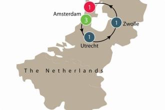 Map of Dutch Tulip