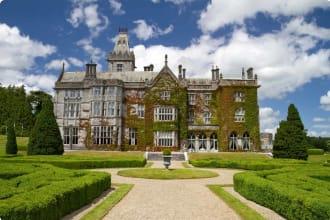 Castle - hotel in Adare - garden view - Ireland