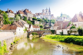 Semur-en-Auxois Burgundy France