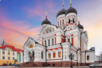 Tallinn, Alexander Nevsky Cathedral, Estonia