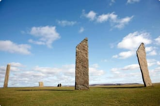 Stones of Stenness, Loch Stenness, Scotland