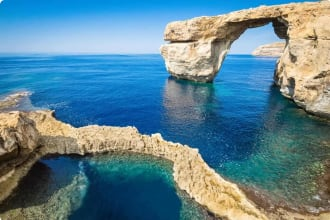 Azure Window in Gozo - Malta Island