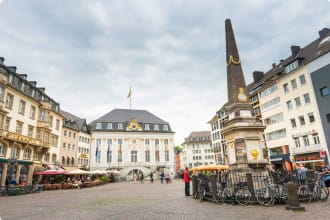 Old town hall at Bonn, Germany