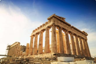 Acropolis Hill, Parthenon, Athens, Greece