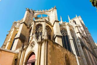 Narbonne Cathedral Saint-Just-et-Saint-Pasteur, France