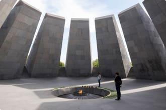 Armenian Genocide Memorial in Yerevan