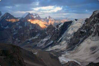Pamir mountains Tajikstan