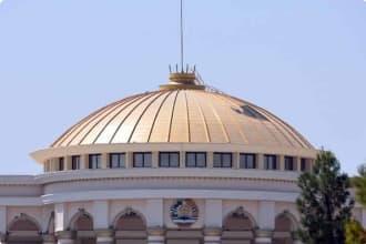 Parliament house Tajikstan