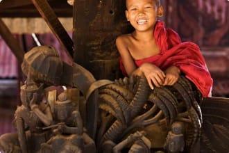 Young Boy Myanmar