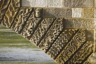 Detail of Ross Bridge Tasmania