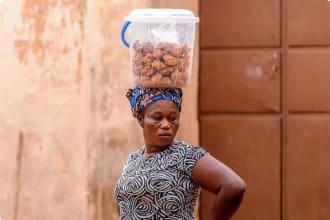 Local woman in Benin