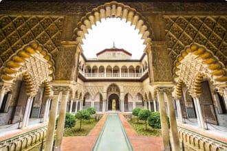 Moorish architecture of Seville, Spain
