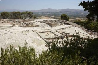 Phaestos ruins, Crete