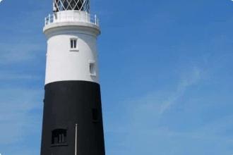 Alderney Lighthouse - Quenard Point