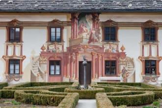 Oberammergau, Bavaria, Door, Entrance, European Alps