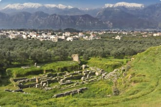 Sparta ruins, Greece