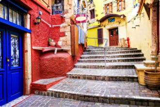 Old Chania town, Crete island