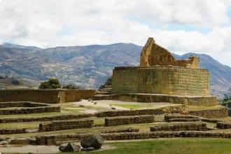 Ecuador, ancient Ingapirca ruin, the most important Inca site in Ecuador was built toward the end of the 5th century